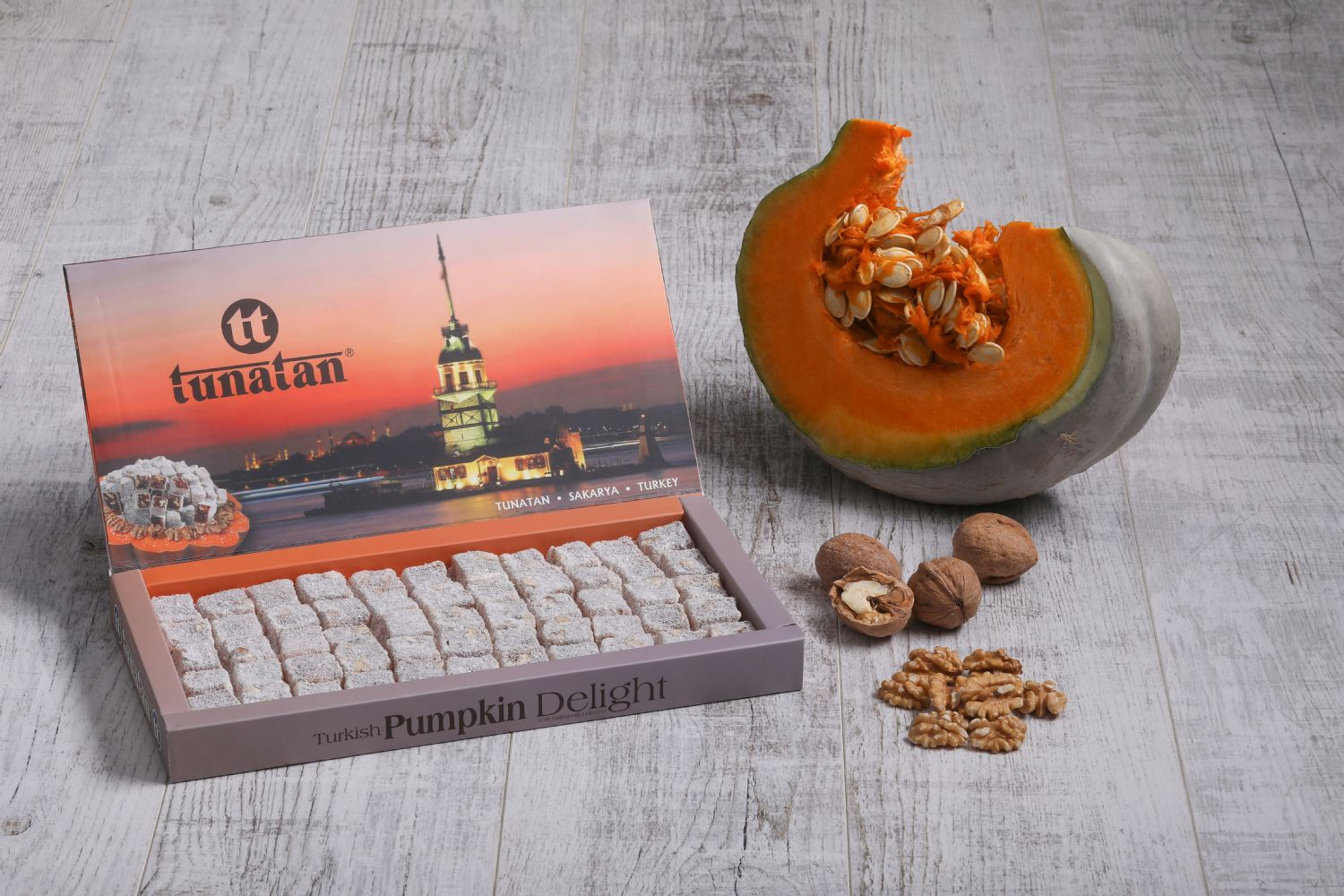 Pumpkin Turkish Delight